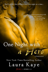 one night with a hero, laura kaye, contemporary romance